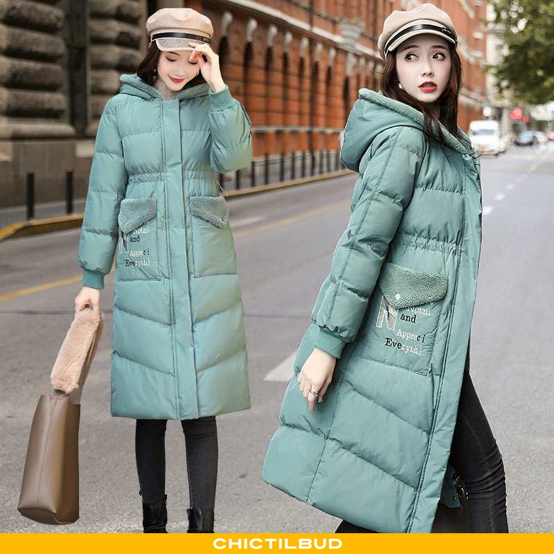 Vinterjakke Dame Bomuldsjakke Trend 2021