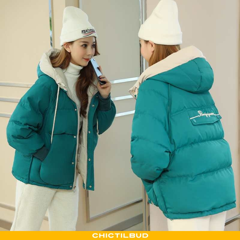 Vinterjakke Dame Frakke Tykke Kvinder