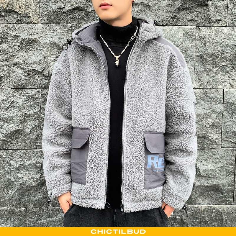 Vinterjakke Herre Frakke Mode Studerende