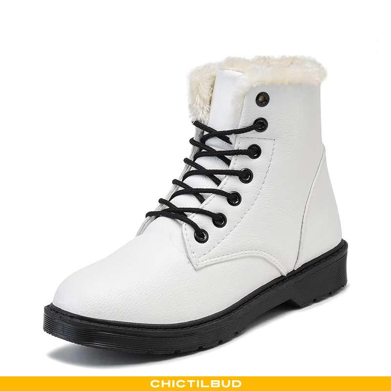 Vinterstøvler Dame Korte Støvler Bomuld Vinter Kvinder