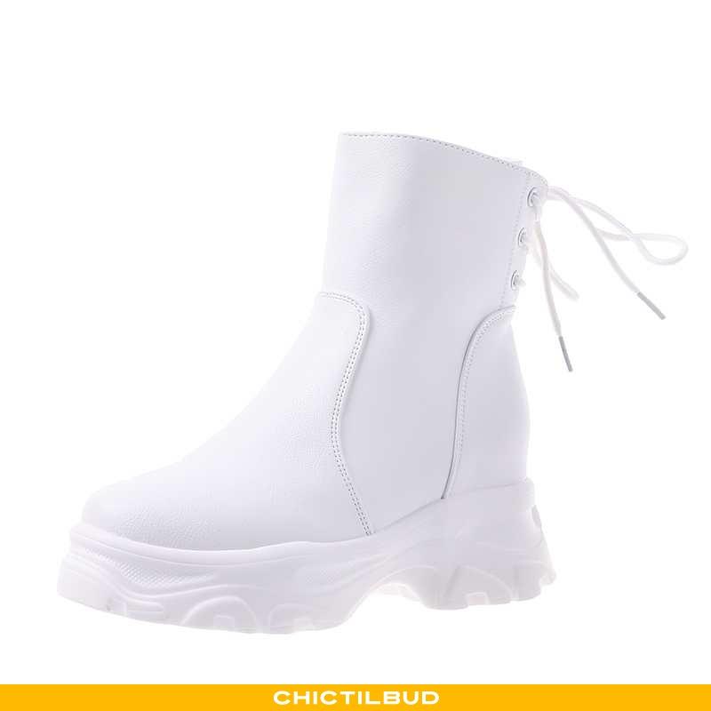 Vinterstøvler Dame Martin Støvler Vinter Hvid