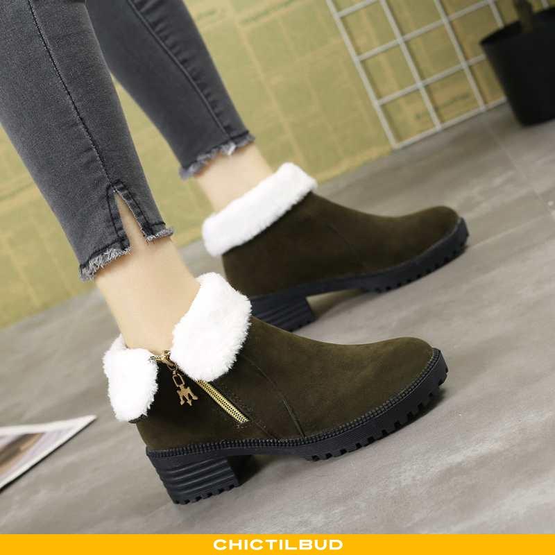 Vinterstøvler Dame Støvler Læder Mode 2020