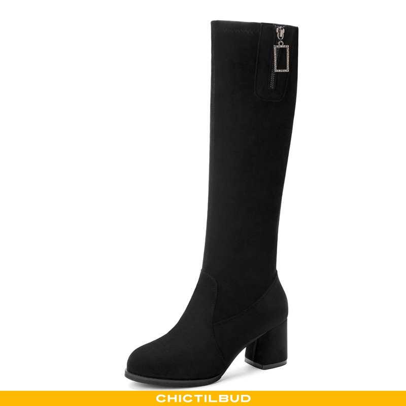 Vinterstøvler Dame Støvler Lang Kvinder