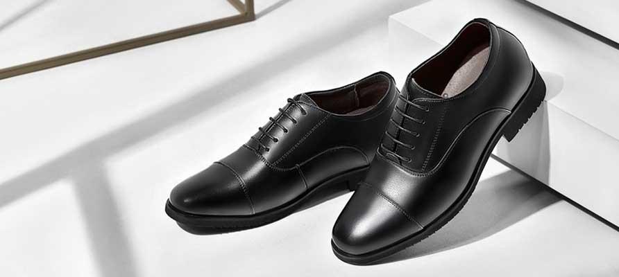 læder sko herre